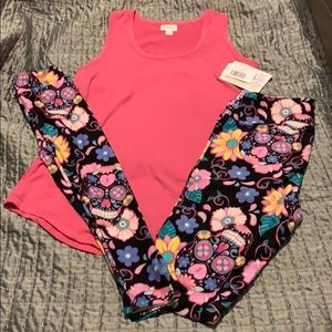 Sugar Skull Mommy and Me Outfit Set